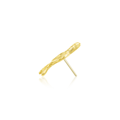 Koi in 14k Gold by Junipurr