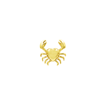 Patty Crab End in 14k Gold by Junipurr