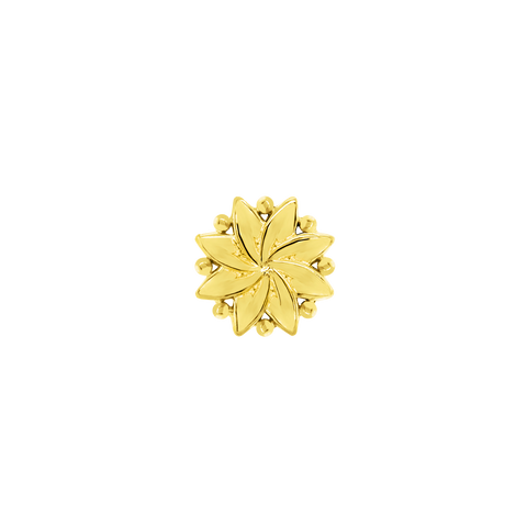 Southern Belle Flower in 14k Gold by Junipurr