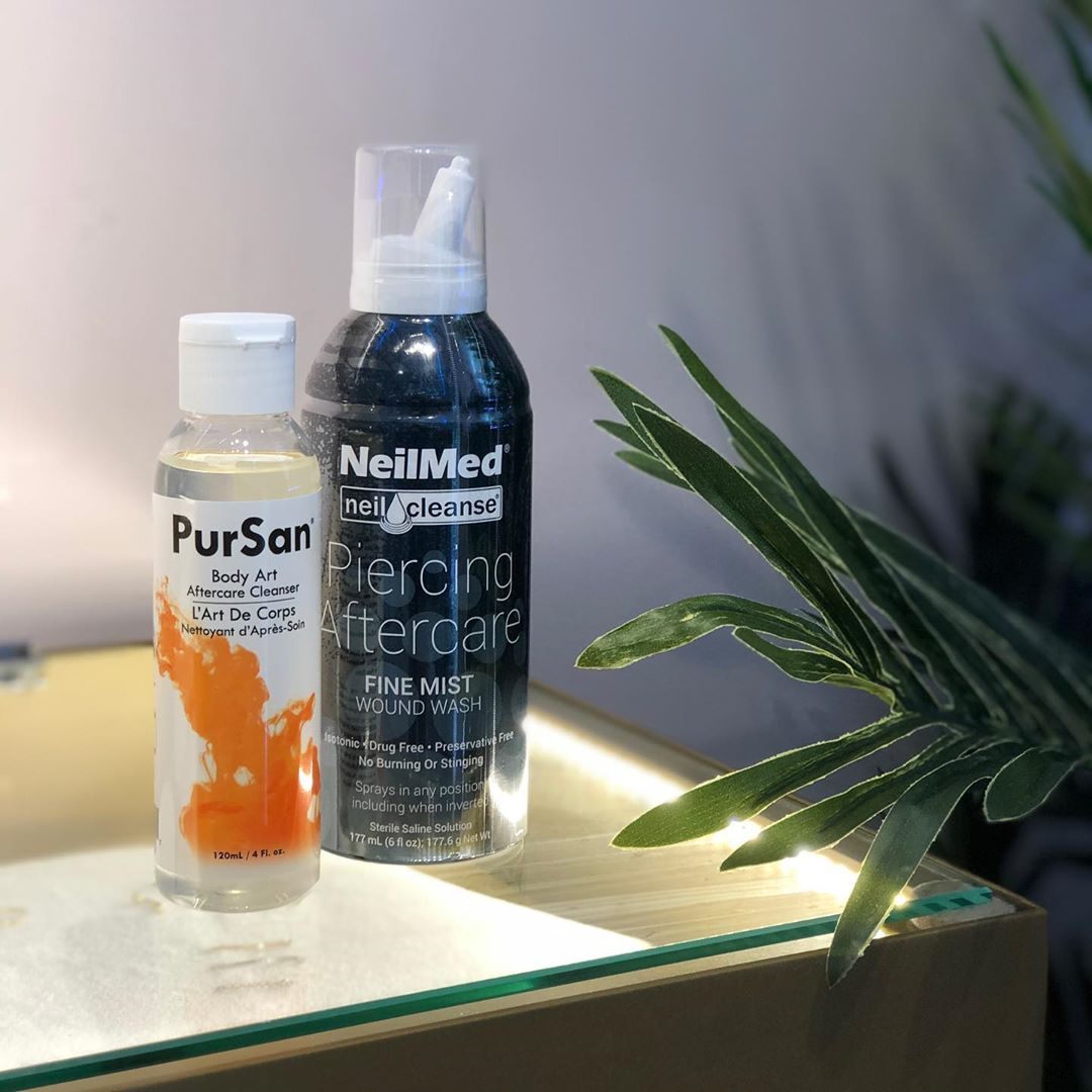 PurSan Body Art Aftercare Cleanser