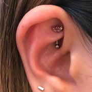 Rook Piercing in Mississauga