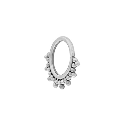 LeRoi Haute Couture Talia Seam Ring in Titanium
