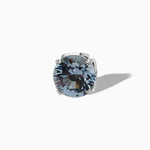 Ocean Grey Swarovski Prong in Titanium by NeoMetal