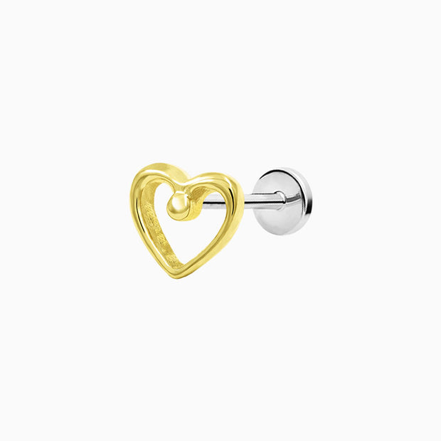 For Your Sleeve Heart in 14k Gold by Junipurr