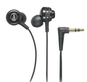Audio-Technica ATH-COR150 Core Bass Immersive In-Ear Headphones in black