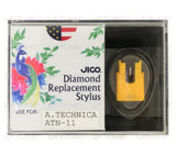 JICO replacement Audio-Technica ATN-11 stylus in packaging