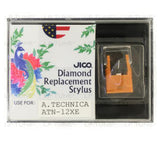JICO replacement Stylus for Audio-Technica AT-12XE AT12XE cartridge in packaging