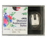 JICO replacement Audio-Technica VM8-7D stylus in packaging