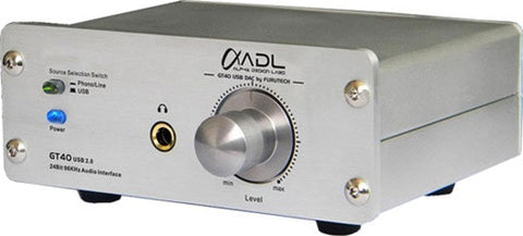 ADL Furutech GT40 USB DAC Audio Interface with phono preamp