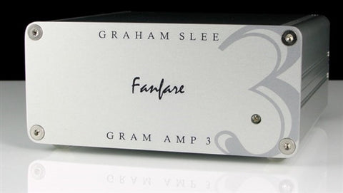 Graham Slee Gram Amp 3 Fanfare phono preamp for MC phono cartridge