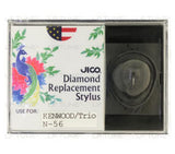 JICO replacement Stylus for Kenwood KD-75 turntable in packaging