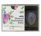 JICO replacement Stylus for Kenwood KD-26R turntable in packaging