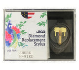 JICO replacement Stylus for Shure AA92E cartridge