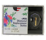 JICO replacement stylus for Shure ME97HE cartridge in packaging