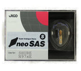 JICO neoSAS/S replacement Shure N97xE stylus in packaging