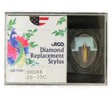 JICO replacement Shure SS-35C stylus in packaging
