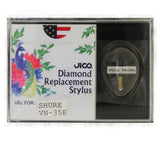 JICO replacement Shure VN-35E stylus in packaging
