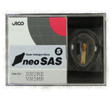JICO neoSAS/S replacement Shure VN5MR stylus in packaging