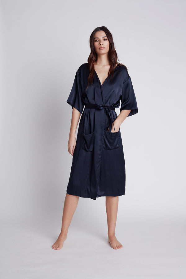 NILETA Silk pajamas sleepwear robe