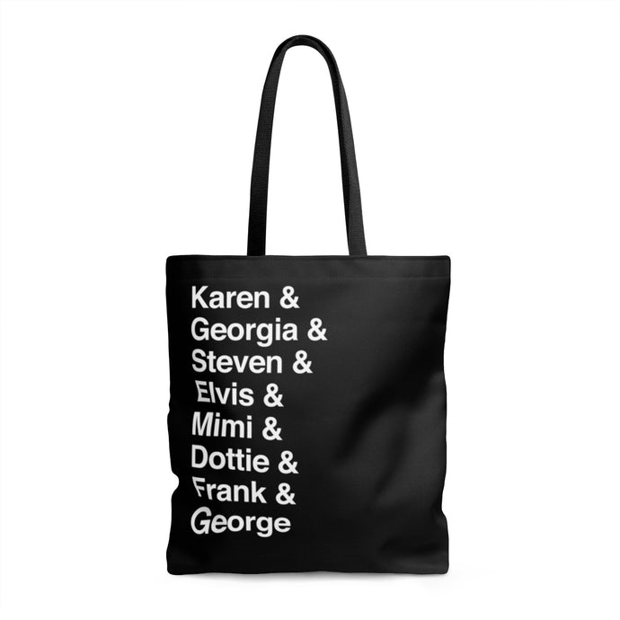 My Favorite Murder Cast of Characters Tote Bag