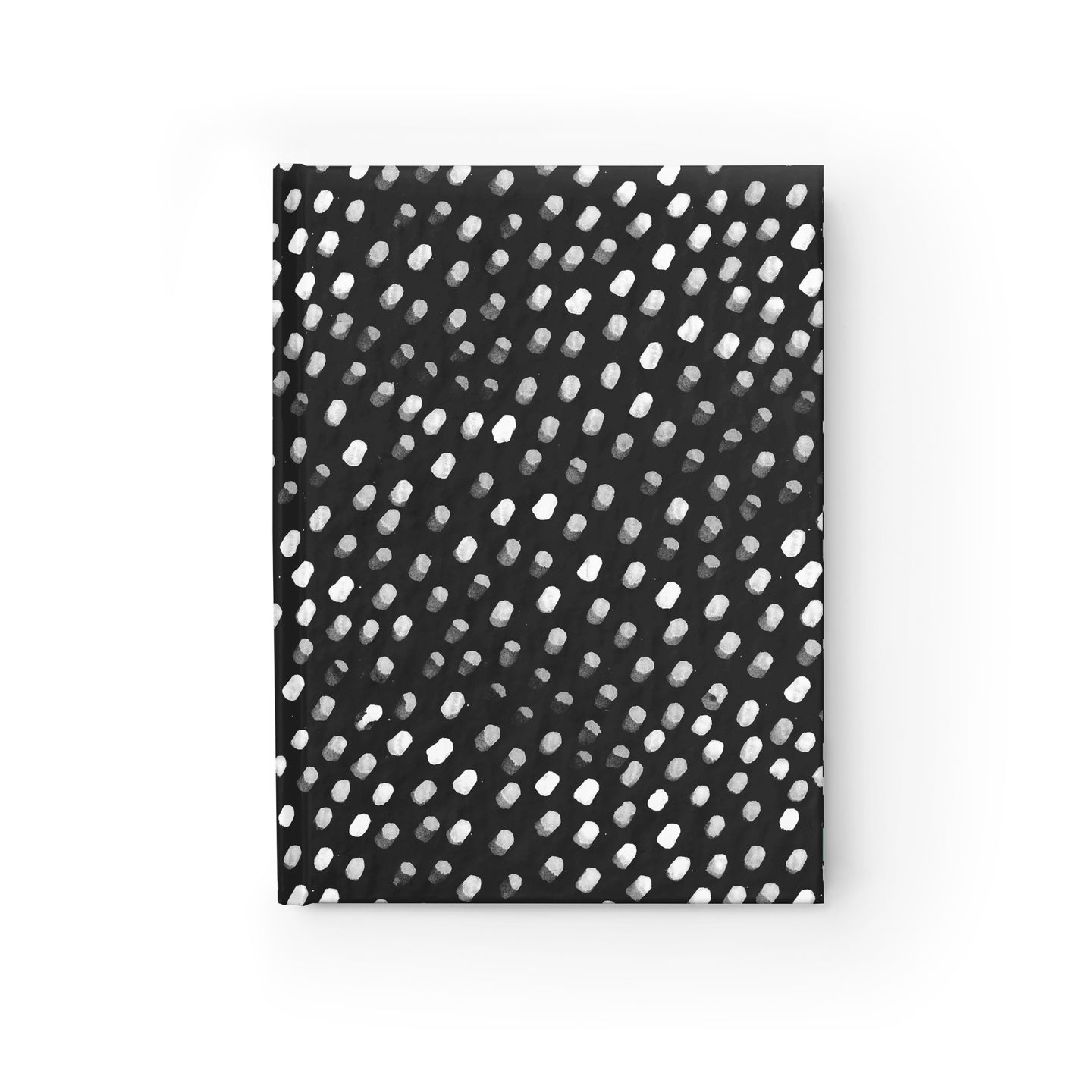 Dots on Black Notebook