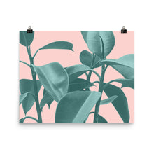 Tropical Palms Art Print (horizontal)