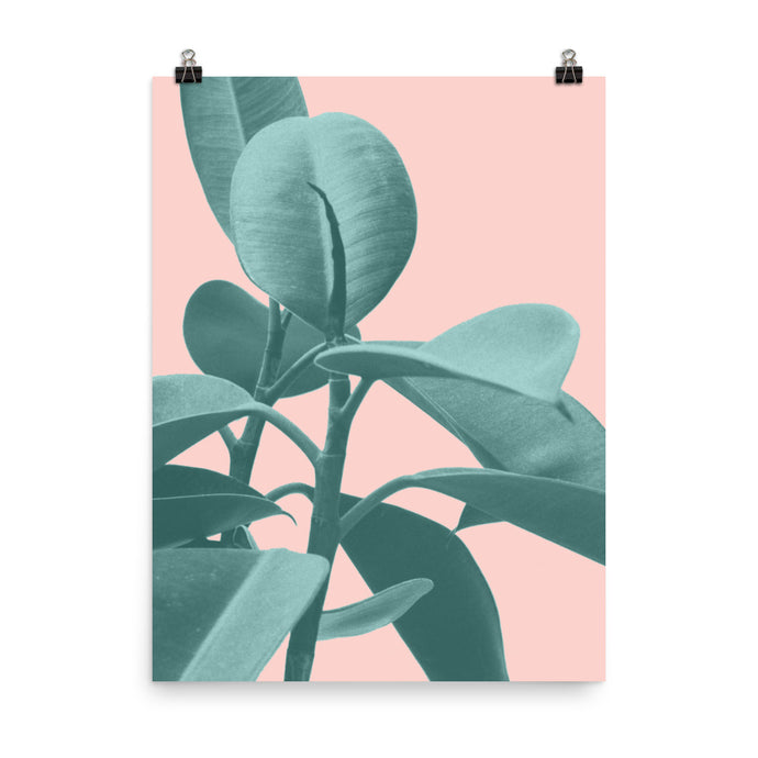 Tropical Palms Art Print (Vertical)