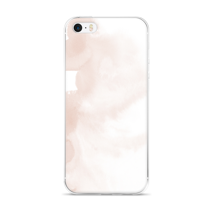 Touch of Blush iPhone Case