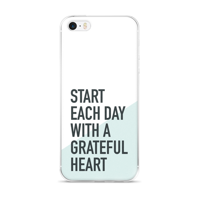 Grateful Heart iPhone Case
