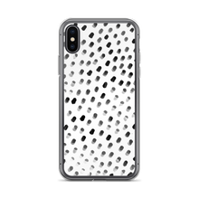 Dots on White iPhone Case