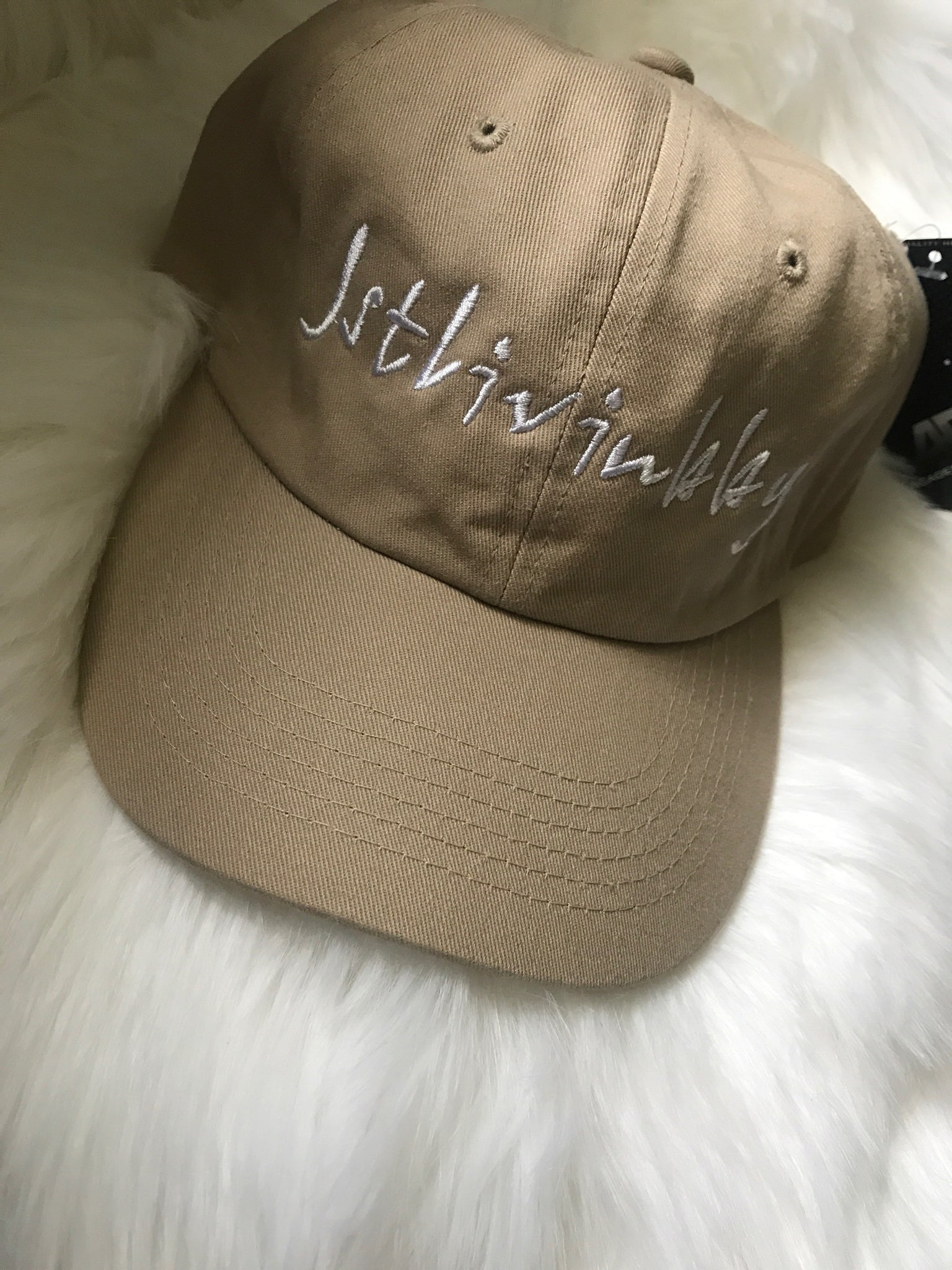 Tan Fitted Cap OS
