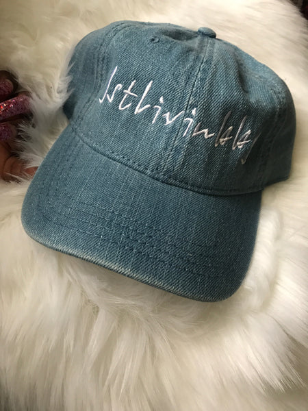 Denim Fitted Cap OS