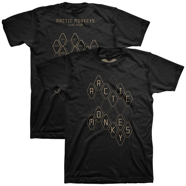 'AM HEXAGONS JUNE-OCT TOUR' T-SHIRT