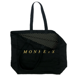a838c37fc1e CUSTOM MADE MONKEYS CANVAS SHOPPER – ARCTIC MONKEYS