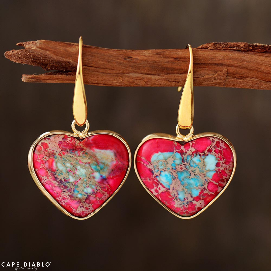 Intense Love Protection Earrings