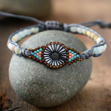 The Amazonite Eye Bracelet