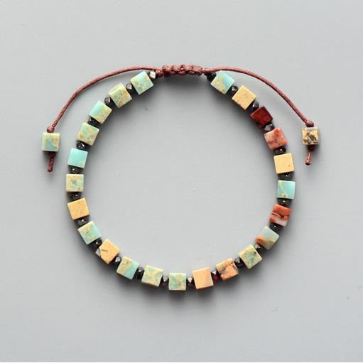 Natural Stone Colorful Bracelet