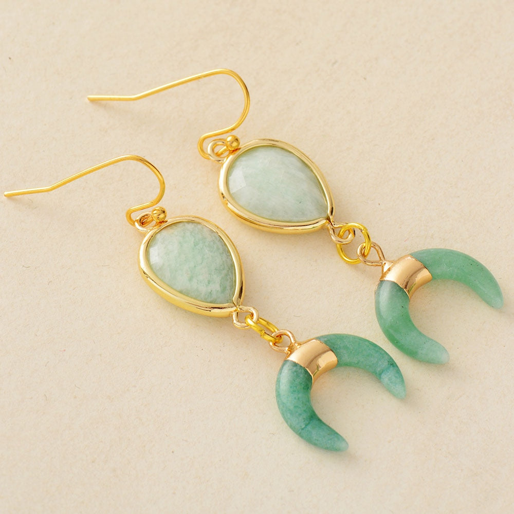 Half Moon Energy Earrings