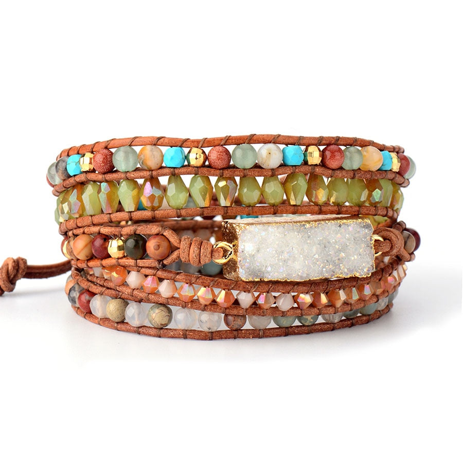 Mother Nature Wrap Bracelet