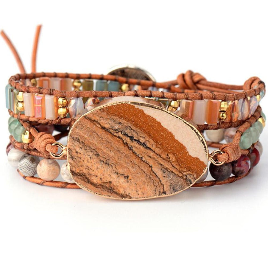 Picture Jasper Dream Bracelet