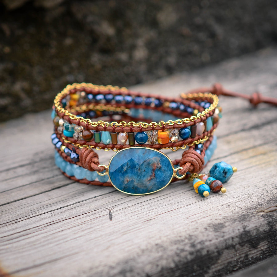 Healing Apatite Protection Bracelet
