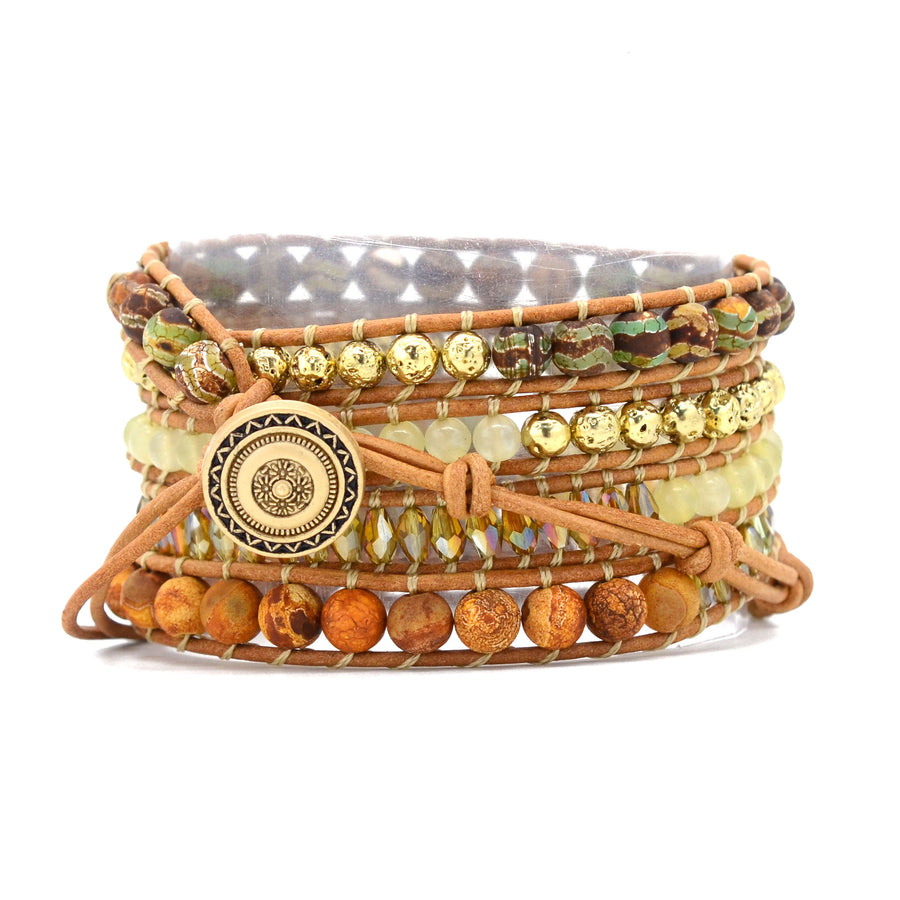 Native Earth Grounding Wrap Bracelet