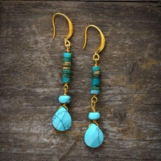 Blue Ocean Earrings