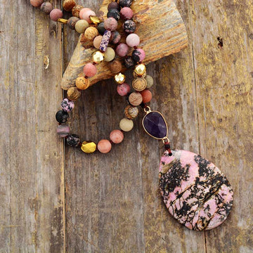 Rhodonite Handmade Necklace