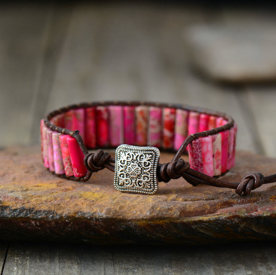 Pink Dream Tube Bracelet