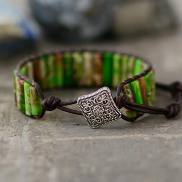 Green Dream Tube Bracelet