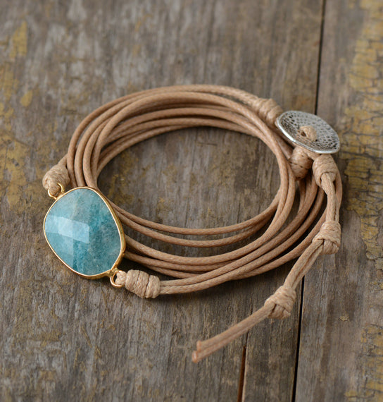 Ocean Breeze Amazonite Bracelet