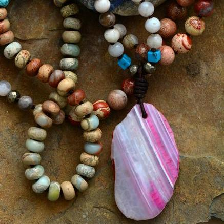 Natural Agate Dreamer Necklace