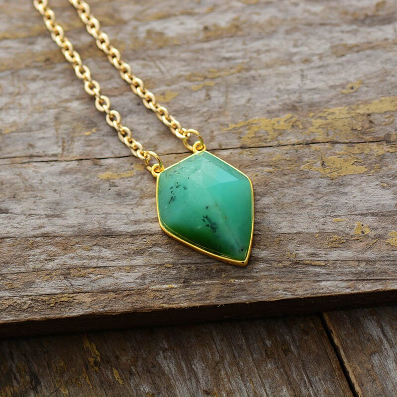 Natural Jade Pendant Necklace