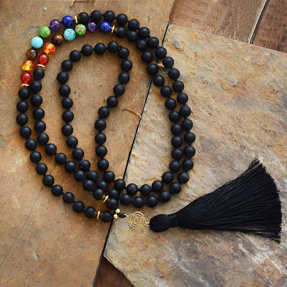 Kissed By Fire Chakra Mala